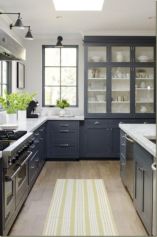 Black Sconces In Kitchen